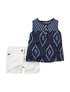 Carter's® 2-pc. Aztec Print Top & Shorts Set - Baby 0-12 Mos.