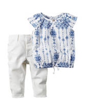 Carter's® 2-pc. Aztec Top & Pants Set - Baby 0-12 Mos.