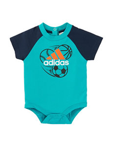 adidas® Sports Bodysuit - Baby 3-9 Mos.