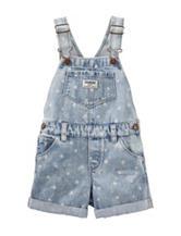 OshKosh B'gosh® Star Print Shortalls – Baby 12-24 Mos.
