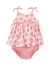 OshKosh B'gosh® Star Print Sunsuit - Baby 12-24 Mos.