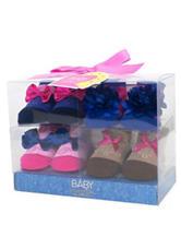 Baby Essentials 4-pk. Cowgirl Socks