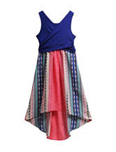 Emily West Crossover Bodice Dress - Girls 7-16