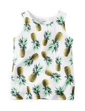 Carter's® Pineapple Print Top - Toddler Girls