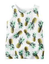 Carter's® Pineapple Print Top - Girls 4-8