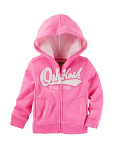 OshKosh B'gosh® Pink Logo Hoodie - Girls 4-8