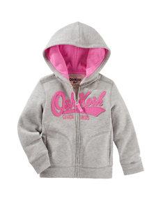 OshKosh B'gosh® Grey Logo Hoodie - Girls 4-8