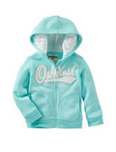 OshKosh B'gosh® Turquoise Logo Hoodie - Toddler Girls