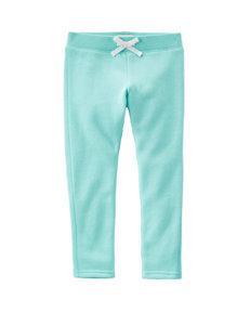 OshKosh B'gosh® Turquoise French Terry Pants - Girls 4-8