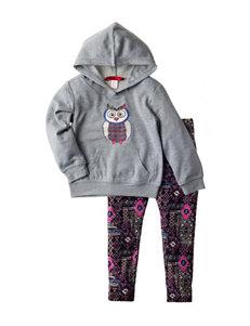 1st Kiss 2-pc. Owl Print Hoodie & Leggings Set - Toddlers & Girls 4-6x