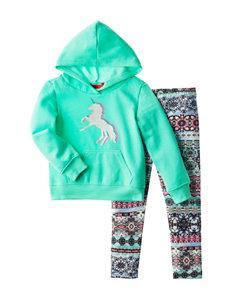 1st Kiss 2-pc. Unicorn Print Hoodie & Leggings Set - Toddlers & Girls 4-6x