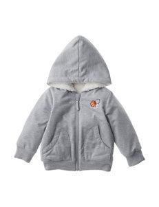 QT Baby Heather Grey Lightweight Jackets & Blazers