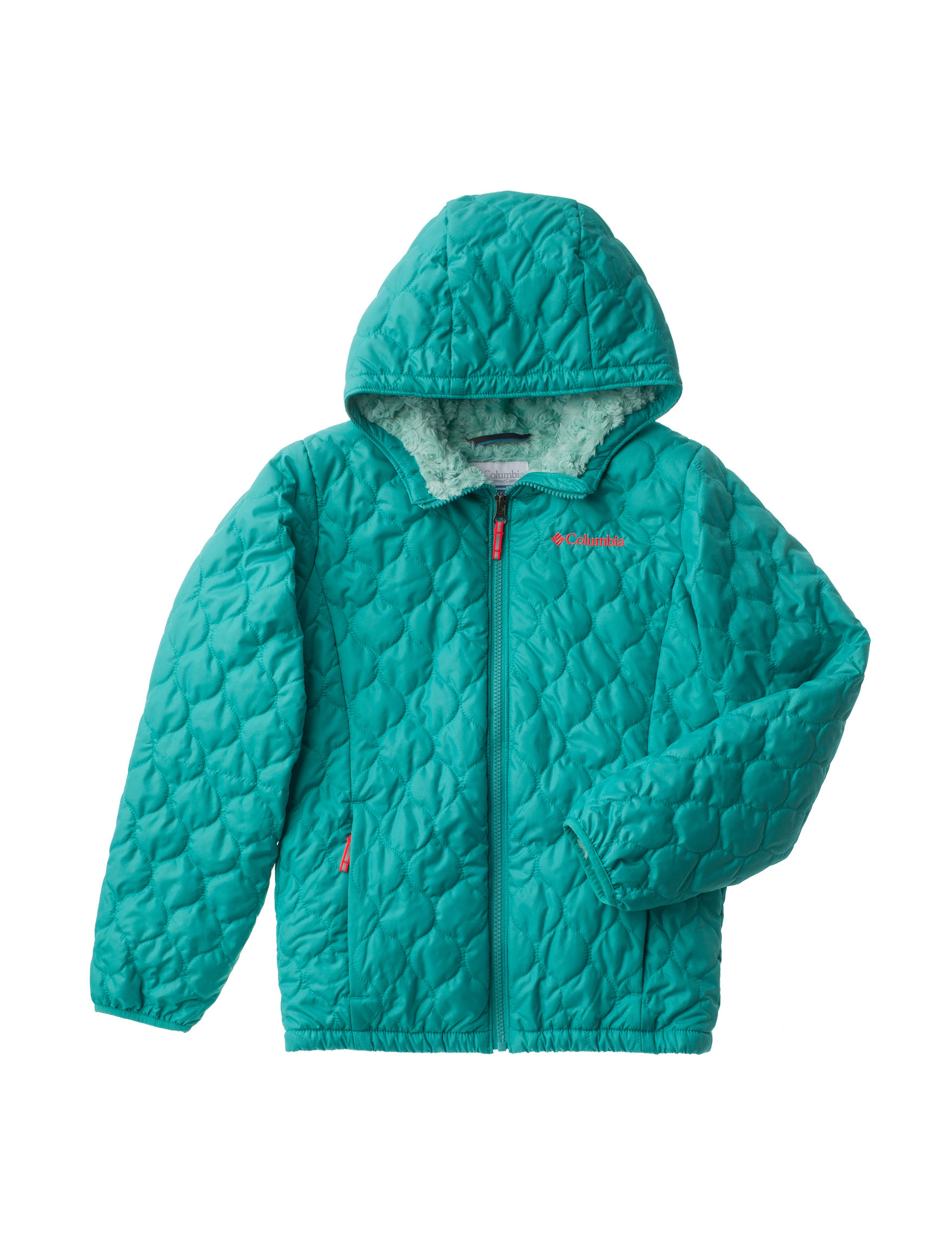 Columbia Green Fleece & Soft Shell Jackets