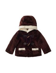 QT Baby Brown Lightweight Jackets & Blazers