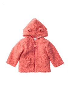 QT Baby Shaggy Fleece Jacket - Baby 12-24 Mos.