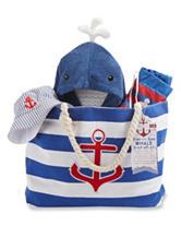 Baby Aspen 4-pc. Fun In The Sun Nautical Gift Set - Baby 0-9 Mos.