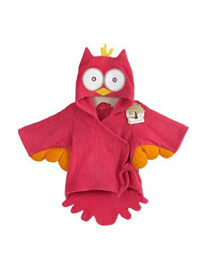 Baby Aspen Night Owl Hooded Terry Spa Robe - Baby 0-9 Mos.