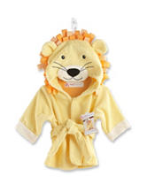 Baby Aspen Big Top Bath Time Lion Terry Spa Robe - Baby 0-9 Mos.