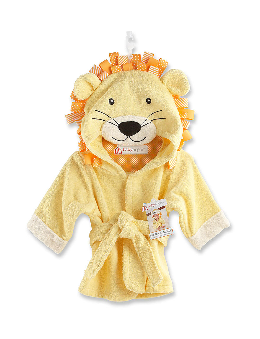 Baby Aspen Yellow Baby Robes