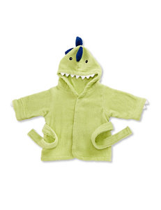 Baby Aspen Splash-A-Saurus Dinosaur Terry Spa Robe - Baby 0-9 Mos.