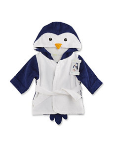 Baby Aspen Wash & Waddle Penguin Terry Spa Robe - Baby 0-9 Mos.
