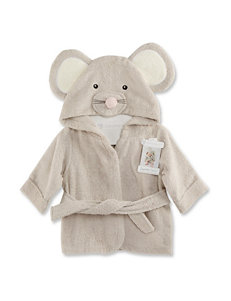 Baby Aspen Squeaky Clean Mouse Terry Spa Robe - Baby 0-9 Mos.