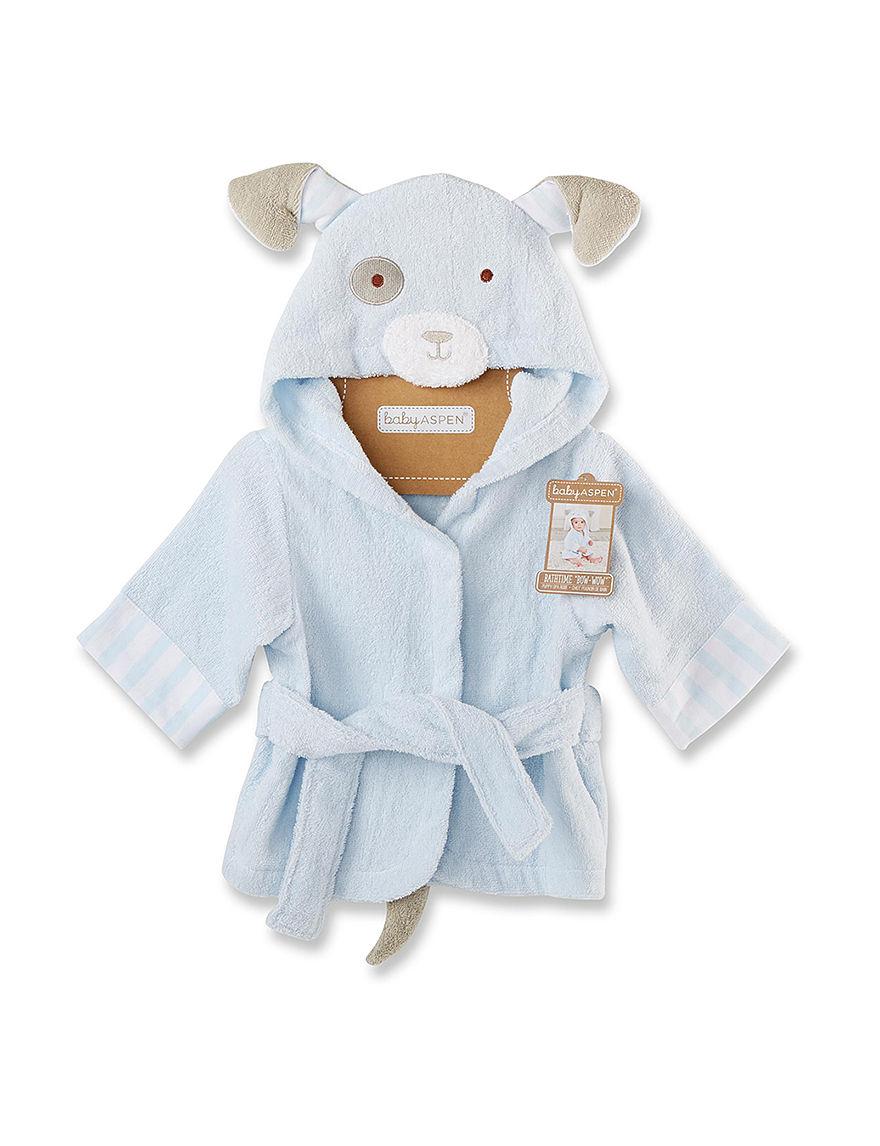 Baby Aspen Blue Baby Robes