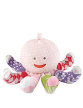 Baby Aspen Plush Octopus with Socks - Baby 0-6 Mos.