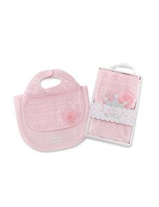Baby Aspen Little Princess Bib & Burp Set - Baby 0-6 Mos.
