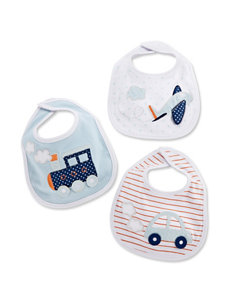 Baby Aspen 3-pk. The Adventure Begins Bib Gift Set - Baby 0-6 Mos