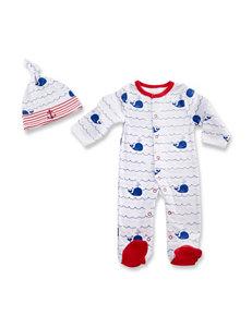 Baby Aspen 2-pc. Nautical PJ's Gift Set - Baby 0-6 Mos.