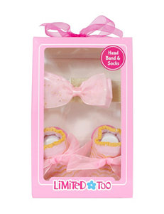 Limited Too 2-pk. Headband & Sock Set - Baby 0-12 Mos.