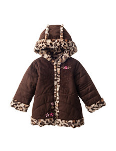 Pistachio Brown Fleece & Soft Shell Jackets
