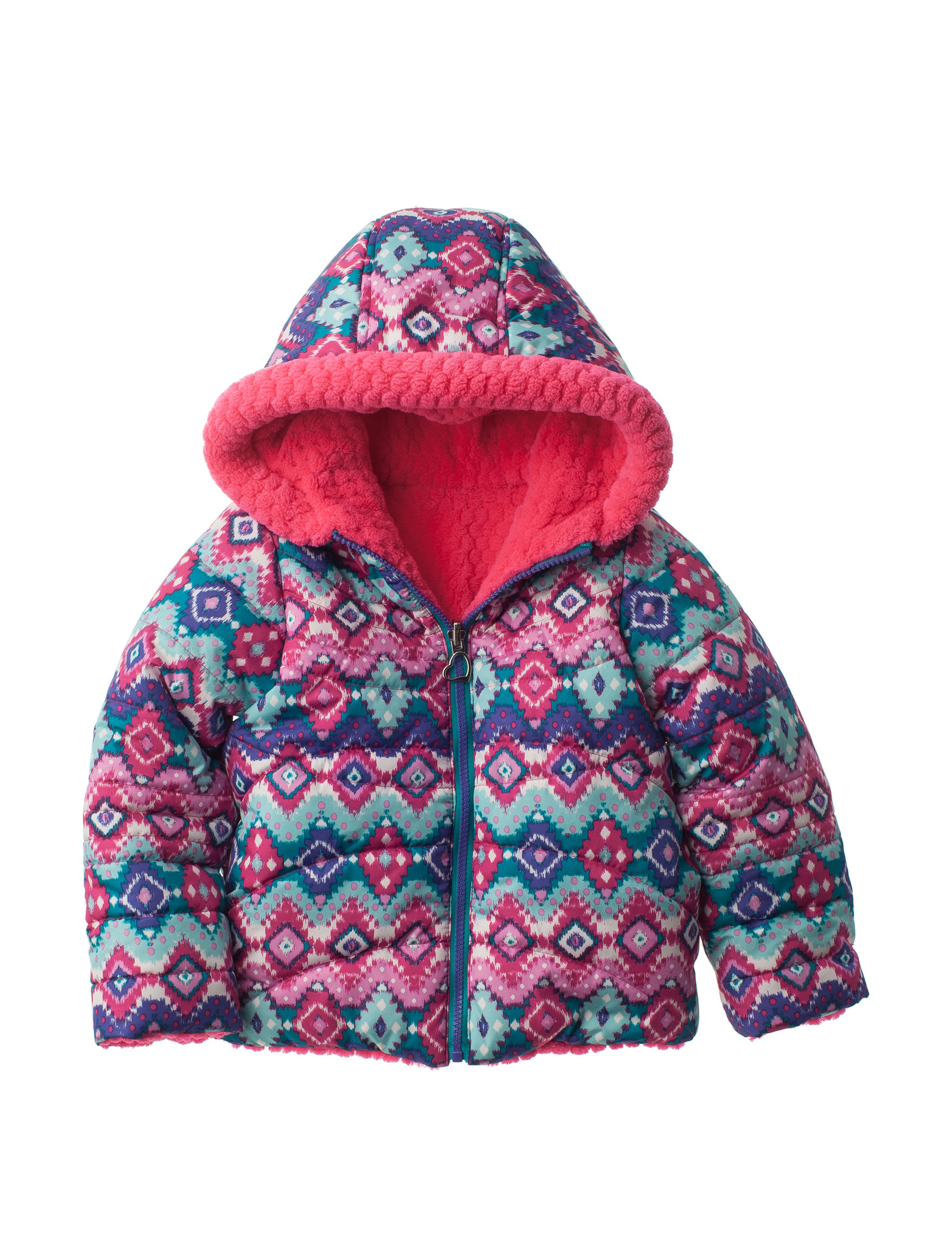 Pacific Trail Pink Fleece & Soft Shell Jackets