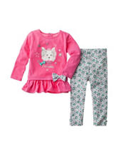 Baby Gear 2-pc. Daddy's Little Princess Top & Leggings Set - Baby 12-24 Mos.