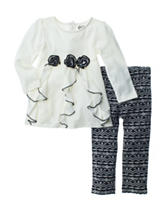 Baby Gear 2-pc. Cascade Print Leggings Set - Baby 12-24 Mos.