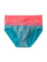 Sweet Princess 2-pk. Lace Dot Panties