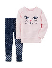 Carter's® 2-pc. Cat Leggings Set – Toddler Girls