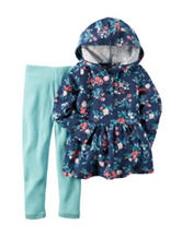Carter's® 2-pc. Floral Print Hoodie & Leggings Set – Toddler Girls