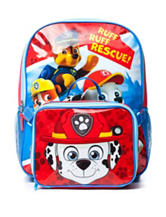 Paw Patrol Boys Backpack with Lunch Box