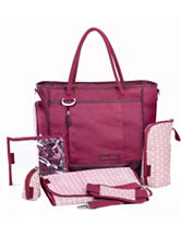Babymoov Essential Diaper Bag - Cherry