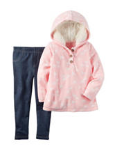Carter's® 2-pc. Horse Print Hoodie & Jeggings Set - Toddler Girls