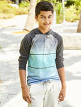 Ocean Current Sublimated Hooded T-shirt - Boys 8-20