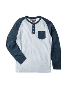 Point Zero Pocket Henley Shirt - Boys 8-20