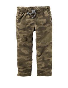 Carters® Camo Print Fleece Pants - Toddler Boys