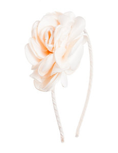 Capelli Pearl Rose Flower Headband