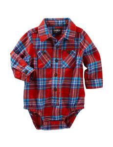 OshKosh B'gosh® Plaid Print Bodysuit- Baby 3-24 Mos.