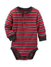 OshKosh B'gosh® Striped Print Thermal Bodysuit- Baby 3-24 Mos.