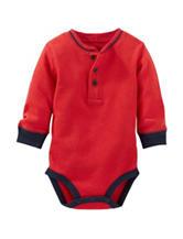 OshKosh B'gosh® Red Thermal Bodysuit- Baby 3-24 Mos.