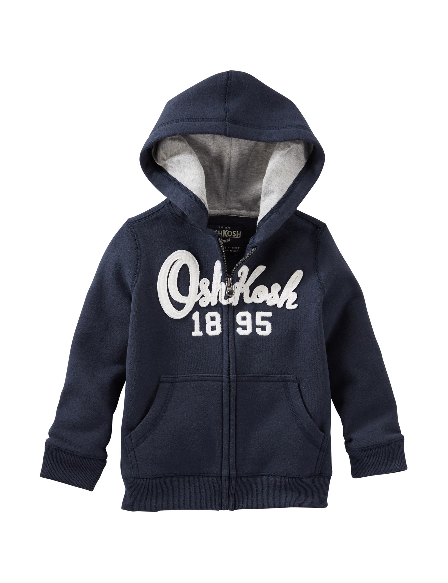 Oshkosh B'Gosh Navy Lightweight Jackets & Blazers